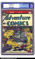 Golden Age (1938-1955):Superhero, Adventure Comics #88 Rockford pedigree (DC, 1943) CGC NM 9.4 Off-white to white pages. What do Sandman and his little buddy ...