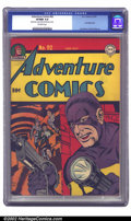 Golden Age (1938-1955):Superhero, Adventure Comics #92 (DC, 1944) CGC VF/NM 9.0 Off-white pages. Manhunter captures the cover again, about to spring into acti...