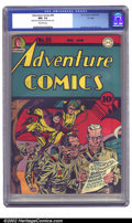 """Golden Age (1938-1955):Superhero, Adventure Comics #95 """"D"""" pedigree (DC, 1944) CGC NM- 9.2 Off-white pages. Sandman and Sandy break up a party of Japanese sol..."""