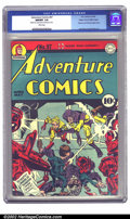 Golden Age (1938-1955):Superhero, Adventure Comics #97 Mile High pedigree (DC, 1945) CGC NM/MT 9.8 White pages. Aah, perfection! We dare you to find anything ...