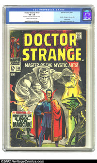 Doctor Strange #169 (Marvel, 1968) CGC VG- 3.5 Cream to off-white pages. After a popular stint in Strange Tales, Marvel...
