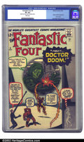 Silver Age (1956-1969):Superhero, Fantastic Four #5 (Marvel, 1962) CGC VF 8.0 White pages. If you'vebeen trying to put together a high-grade run of Fantast...