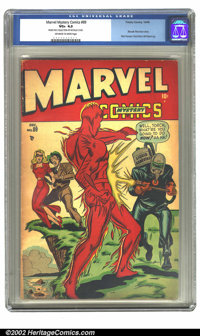 Marvel Mystery Comics #89 (Timely, 1948) CGC VG+ 4.5 Off-white to white pages. Another copy, this one being in mid-grade...
