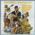 "Movie Posters:James Bond, The Man With the Golden Gun (United Artists, 1974). International Six Sheet (81"" X 81""). James Bond...."