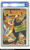 Golden Age (1938-1955):Science Fiction, Planet Comics #45 (Fiction House, 1946) CGC FN- 5.5 Cream tooff-white pages. Doolin strikes again, featuring the Space Rang...