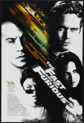 "Movie Posters:Action, The Fast and the Furious (Universal, 2001). One Sheet (27"" X 40"") SS. Action...."