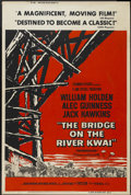 "Movie Posters:Academy Award Winner, The Bridge On The River Kwai (Columbia, 1958). Poster (40"" X 60"").Academy Award Winner...."