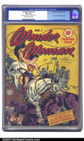 Golden Age (1938-1955):Superhero, Wonder Woman #1 (DC, 1942) CGC VF+ 8.5 Cream to off-white pages. After her success in All Star #8 and Sensation, Won...