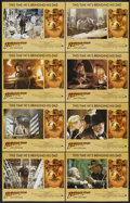 "Movie Posters:Action, Indiana Jones and the Last Crusade (Paramount, 1989). Lobby CardSet of 8 (11"" X 14""). Action...."