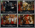 "Movie Posters:Science Fiction, Flash Gordon (Universal, 1980). Lobby Card Set of 4 (11"" X 14"").Science Fiction.... (Total: 4 Items)"