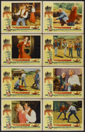 """Movie Posters:Western, The Plunderers (Allied Artists, 1960). Lobby Card Set of 8 (11"""" X 14""""). Western...."""
