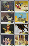 "Movie Posters:Animated, Fantasia (Buena Vista, R-1963). Lobby Card Set of 8 (11"" X 14"").Animated.... (Total: 8 Items)"