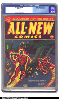 All-New Comics #5 Mile High pedigree (Harvey, 1943) CGC NM 9.4 White pages. Here's another gem of a comic that came out...