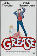 "Movie Posters:Musical, Grease (Paramount, 1978). One Sheet (29.5"" X 45"") Advance. Musical...."
