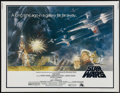 "Movie Posters:Science Fiction, Star Wars (20th Century Fox, 1977). Half Sheet (22"" X 28""). ScienceFiction...."