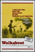 "Movie Posters:Adventure, Walkabout (20th Century Fox, 1971). One Sheet (27"" X 41"") Style B.Adventure...."