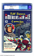 Golden Age (1938-1955):War, Bill Barnes Comics #2 Mile High pedigree (Street & Smith, 1941) CGC VF/NM 9.0 Off-white to white pages. This pre-war cover w...