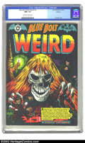 Golden Age (1938-1955):Horror, Blue Bolt Weird Tales #115 Spokane pedigree (Star Publications,1952) CGC NM+ 9.6 Off-white to white pages. Mmmmmm.....minty...