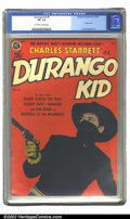 Golden Age (1938-1955):Western, The Durango Kid Lot of #1, #4 and #7 (Magazine Enterprises, 1949). This is a beautiful group lot of Charles Starrett comics,... (Total: 3 Comic Books Item)