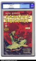 Golden Age (1938-1955):Science Fiction, Famous Funnies #214 (Eastern Color, 1954) CGC FN 6.0 Off-white towhite pages. This is a truly magnificent Frank Frazetta co...