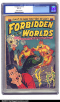 Golden Age (1938-1955):Science Fiction, Forbidden Worlds #2 (All-American, 1951) CGC NM 9.4 Off-white towhite pages. We're proud to present a rare early issue of t...