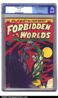 Golden Age (1938-1955):Horror, Forbidden Worlds #7 Mile High pedigree (All-American, 1952) CGC FN6.0 Off-white pages. This is the first monthly issue of A...