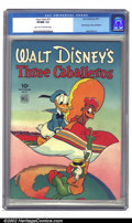 Golden Age (1938-1955):Cartoon Character, Four Color Comics #71 (Dell, 1945) CGC VF/NM 9.0 Light tan to off-white pages. Carl Barks gets the publicity, and deservedly...
