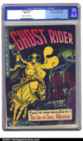 Golden Age (1938-1955):Western, Ghost Rider #8 Mile High pedigree (Magazine Enterprises, 1952) CGCVF+ 8.5 Off-white to white pages. Dick Ayers provides thi...