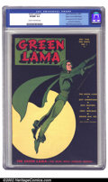 Golden Age (1938-1955):Superhero, Green Lama #1 Mile High pedigree (Spark Publications, 1944) CGC VF/NM 9.0 Cream to off-white pages. A stunningly simple but ...