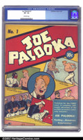 Golden Age (1938-1955):Humor, Joe Palooka Comics Group (Columbia Comics, 1942-1944). This lot consists of the first four issues of Joe Palooka. They h... (Total: 4 Comic Books Item)