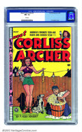 Golden Age (1938-1955):Humor, Meet Corliss Archer #2 (Fox, 1948) CGC NM- 9.2 Pink pages. Al Feldstein's cover of the teen starlet makes, as the Commodores...