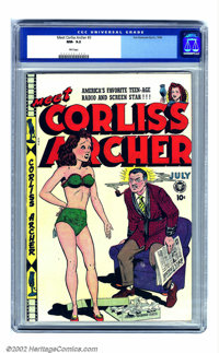 Meet Corliss Archer #3 (Fox, 1948) CGC NM- 9.2 Pink pages. In the third and final issue of the run, it seems perhaps Dr...