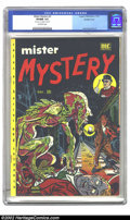 Golden Age (1938-1955):Horror, Mister Mystery #2 Double cover (Aragon Magazines, Inc., 1951) CGCVF/NM 9.0 Off-white pages. You will not see another one of...