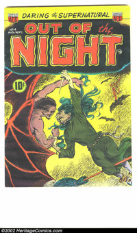 Out of the Night #4 (ACG, 1952) Condition: VF. ACG really created some classic horror books in the days before the Code...