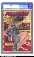 Golden Age (1938-1955):Crime, Phantom Lady #16 (Fox, 1948) CGC NM- 9.2 Cream to off-white pages. Let's throw out a few words and play an association game....