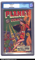 Golden Age (1938-1955):Science Fiction, Planet Comics #59 Rockford pedigree (Fiction House, 1949) CGC NM9.4 Off-white pages. The combination of fantastic artists o...