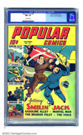 Golden Age (1938-1955):Crime, Popular Comics #70 Mile High pedigree (Dell, 1941) CGC NM+ 9.6 Off-white pages. An absolutely stunning copy, this could very...