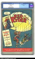 Golden Age (1938-1955):Western, Red Ryder Comics #5 Rockford pedigree (Dell, 1941) CGC VF 8.0 Cream to off-white pages. A paratrooper appears on the cover o...