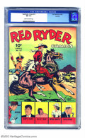 Golden Age (1938-1955):Western, Red Ryder Comics #12 Rockford pedigree (Dell, 1943) CGC NM 9.4Cream to off-white pages. The condition of this book is truly...
