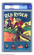 Golden Age (1938-1955):Western, Red Ryder Comics #13 Rockford pedigree (Dell, 1943) CGC NM- 9.2 Cream to off-white pages. Fred Harman created another classi...
