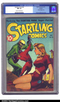 Golden Age (1938-1955):Science Fiction, Startling Comics #46 Rockford pedigree (Better Publications, 1947)CGC NM- 9.2 Cream to off-white pages. Surprise! It's not ...
