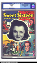 Golden Age (1938-1955):Romance, Sweet Sixteen #1 Mile High pedigree (Parents' Magazine Institute,1946) CGC NM 9.4 White pages. Wanda Hendrix, Warner Brothe...