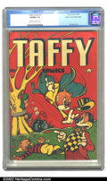 Golden Age (1938-1955):Funny Animal, Taffy Comics #1 Mile High pedigree (Rural Home, 1945) CGC VF/NM 9.0Off-white to white pages. What? An L. B. Cole funny anim...