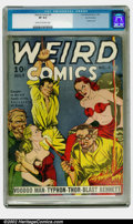 Golden Age (1938-1955):Horror, Weird Comics #4 San Francisco pedigree (Fox, 1940) CGC VF 8.0 Creamto off-white pages. Here is a basic rule of thumb that w...