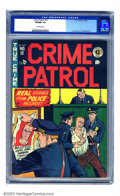 Golden Age (1938-1955):Crime, Crime Patrol #10 (EC, 1949) CGC VF/NM 9.0 Off-white pages. Johnny Craig was the top crime artist for pre-Trend EC Comics, an...