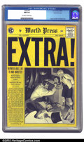 Golden Age (1938-1955):Crime, Extra! #3 Gaines File pedigree 10/12 (EC, 1955) CGC NM 9.4 Off-white to white pages. This is a supremely attractive copy tha...