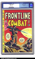 Golden Age (1938-1955):War, Frontline Combat #4 Gaines File pedigree 3/10 (EC, 1952) CGC NM+9.6 Off-white to white pages. The bright, cheery colors of ...