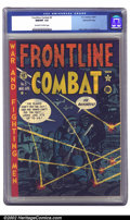 Golden Age (1938-1955):War, Frontline Combat #5 Gaines File pedigree (EC, 1952) CGC NM/MT 9.8 Off-white to white pages. If only other publishers had mai...