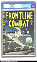 Golden Age (1938-1955):War, Frontline Combat #8 Gaines File pedigree 6/9 (EC, 1952) CGC NM+ 9.6Off-white to white pages. Harvey Kurtzman's sensational ...