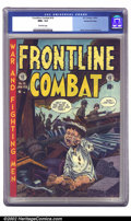 Golden Age (1938-1955):War, Frontline Combat #10 Gaines File pedigree 3/9 (EC, 1953) CGC NM+ 9.6 Off-white pages. This issue features one of the most fa...